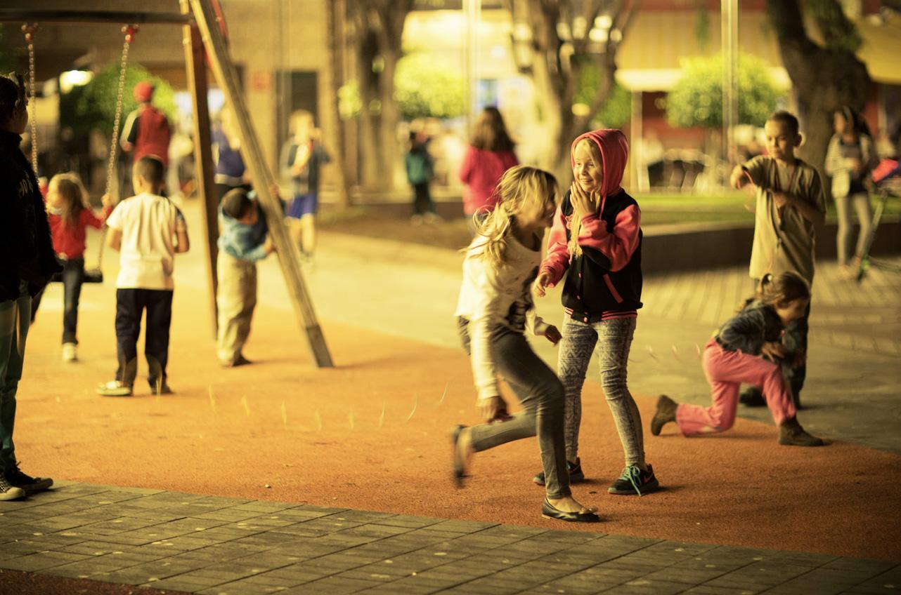 Plac zabaw w Las Galletas